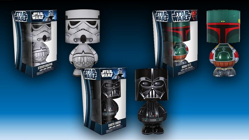 Star Wars Character Lamps