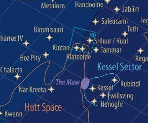 Extremely Detailed Map of the Star Wars Galaxy