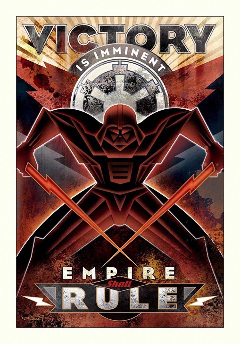 Star Wars Propaganda Posters at Downtown Disney