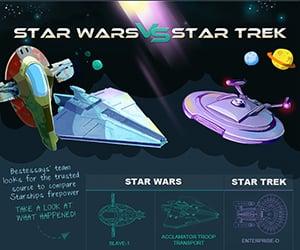 Star Wars vs. Star Trek: Starship Firepower