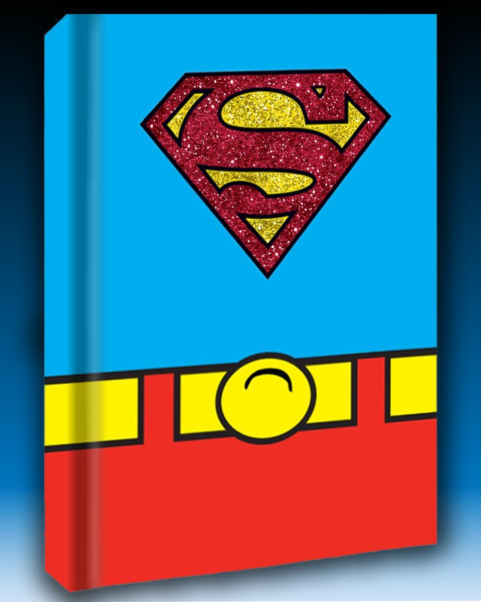 Superman Uniform Hardcover Journal