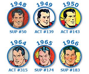 The Changing Face of Superman 1938-2013