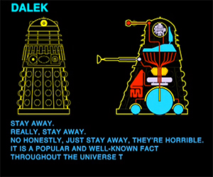 The Hitchhiker's Guide to the Daleks