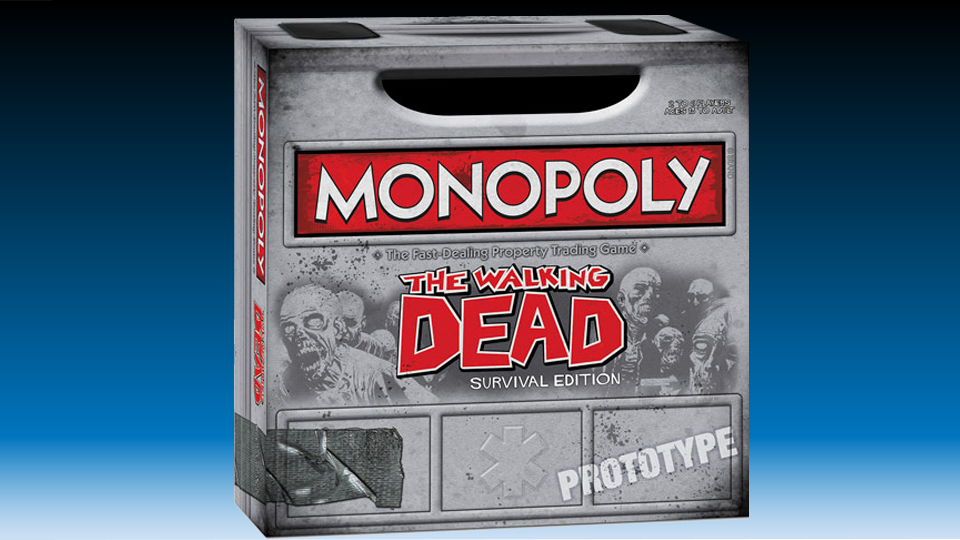 The Walking Dead: Survival Edition Monopoly Game