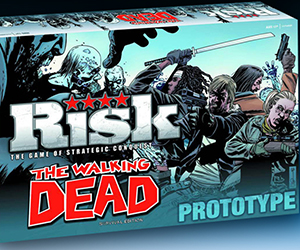 The Walking Dead Themed Risk Board Game