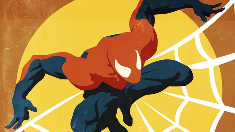 Vintage Marvel Universe Fan Art