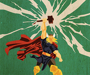 Vintage Marvel Universe Fan Art