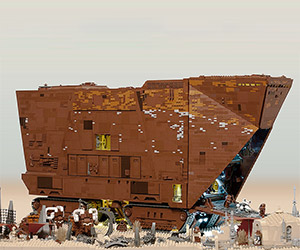 10,000 Piece Working LEGO Sandcrawler