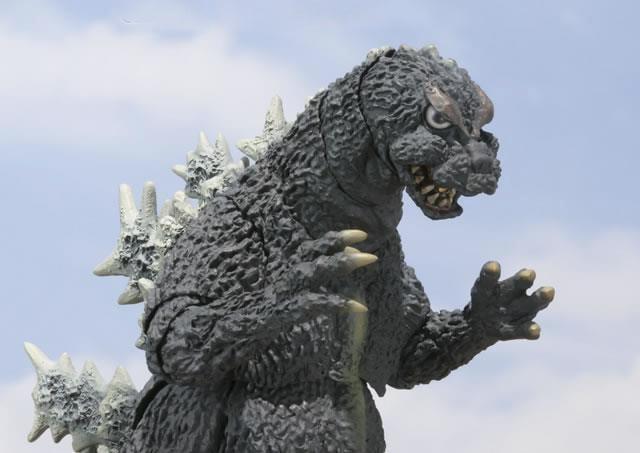 Godzilla Figure Based on 1964 Monster - MightyMega