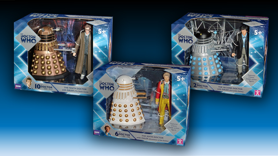 """Toys """"R"""" Us Celebrates 50 Years of Doctor Who"""