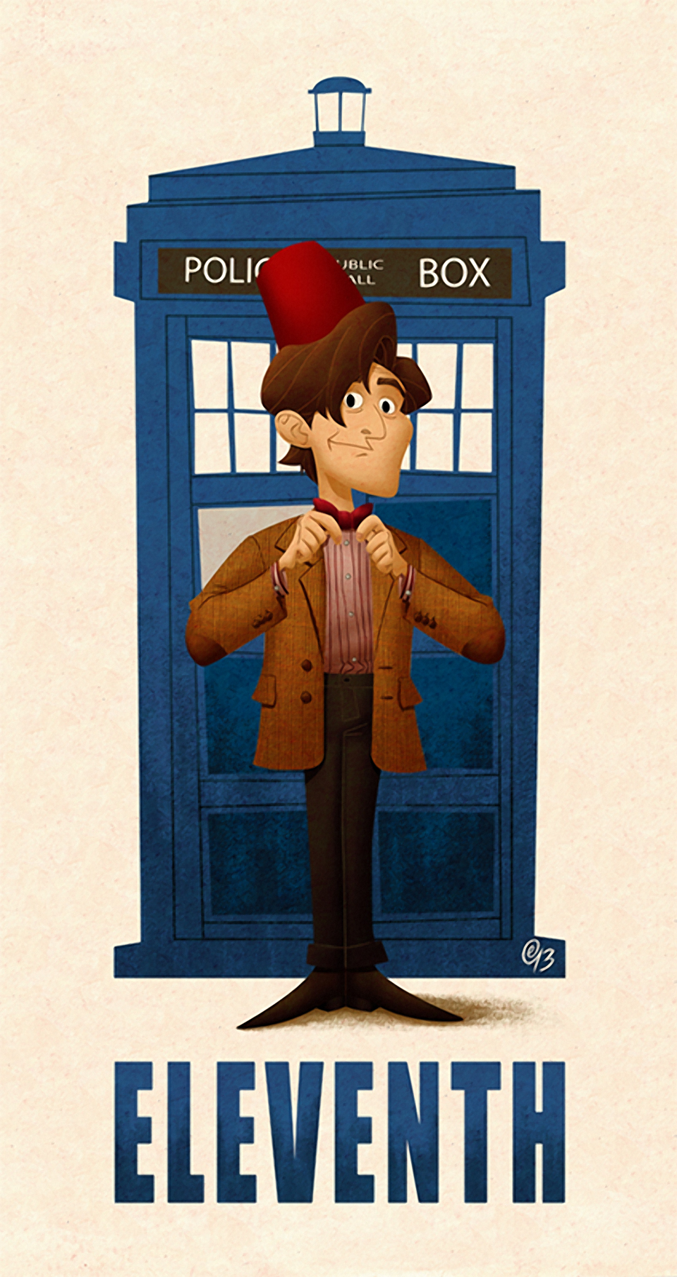 All Eleven Doctors of Doctor Who