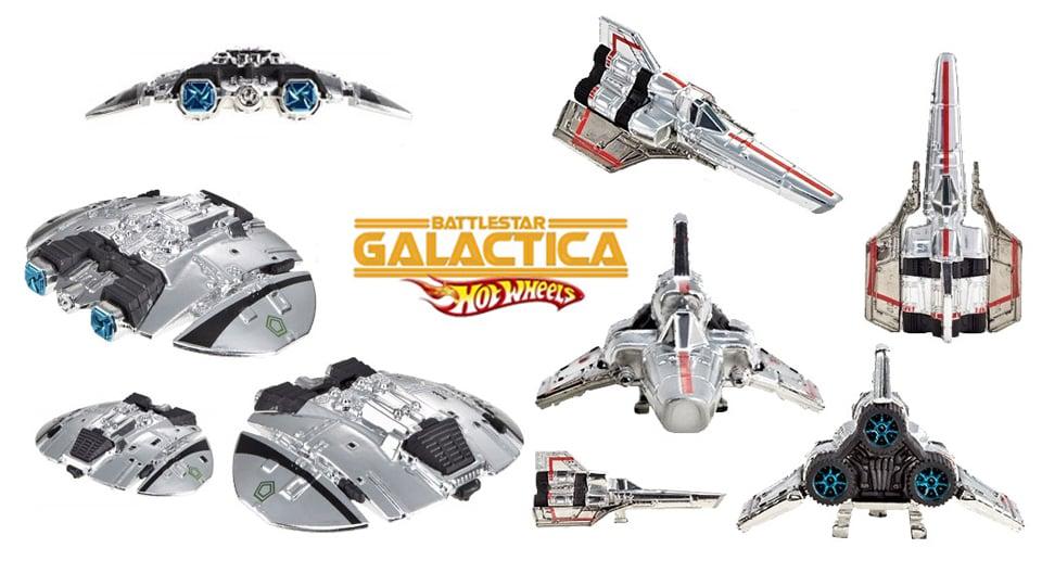 Battlestar Galactica Hot Wheels