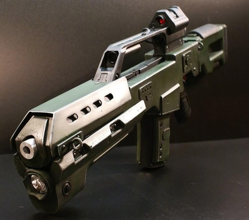 Custom Doom Reaper Battle Rifle - MightyMega