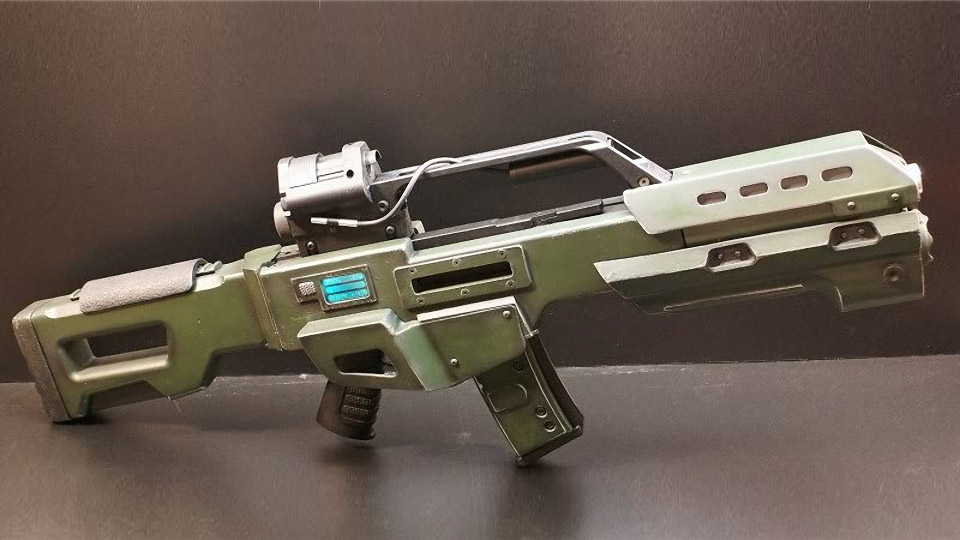 Custom Doom Reaper Battle Rifle