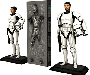 Become a Stormtrooper or Carbon Freeze Yourself