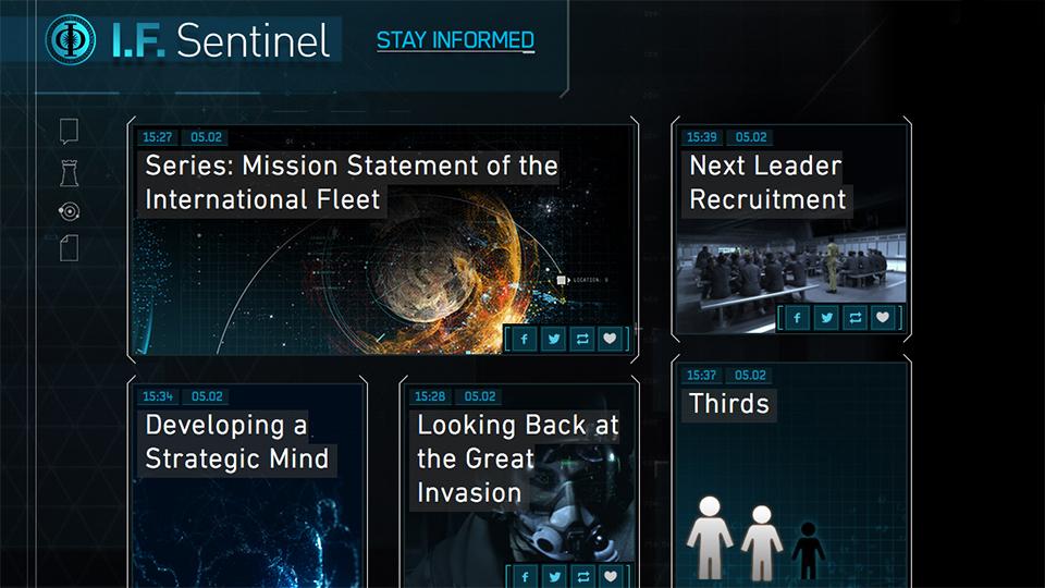 Ender's Game: I.F. Sentinal Site