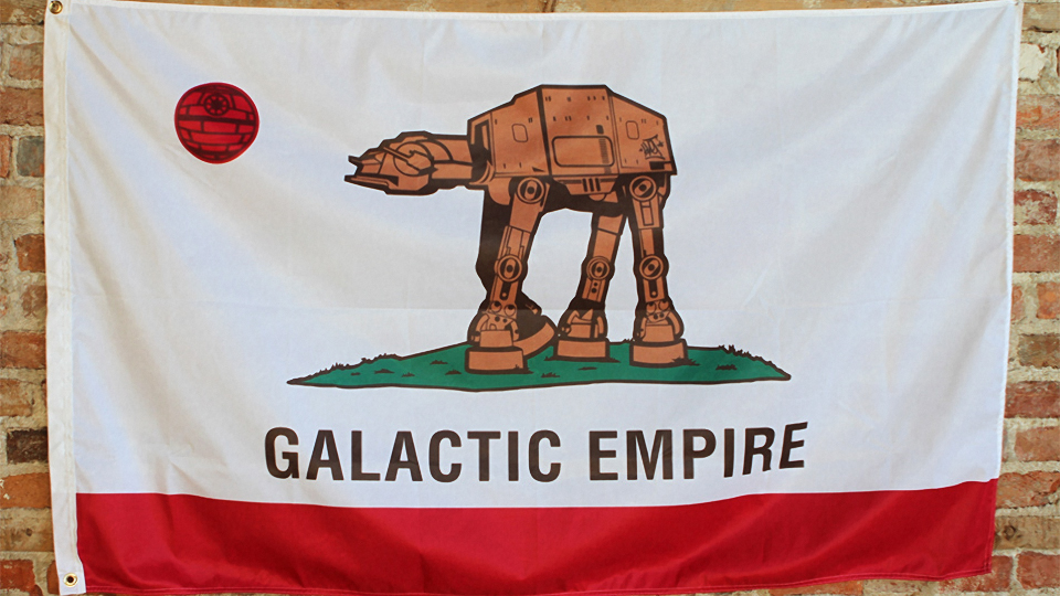 Happy Star Wars Day! Fly Your Flag Proudly