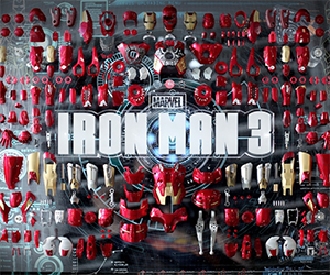 1/6th Scale Iron Man Collectible Armors Assemble