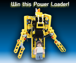 MightyMega Giveaway: LEGO Aliens Power Loader