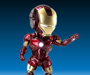 Iron Man Egg Attack Mark IV and War Machine
