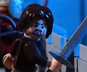 Animated LEGO Battle of Helm's Deep
