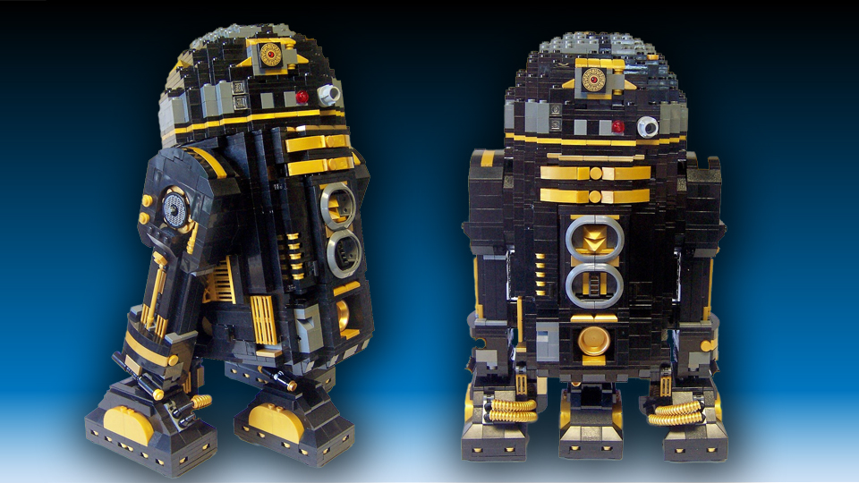Death Star Droid: R2-Pi a LEGO Creation