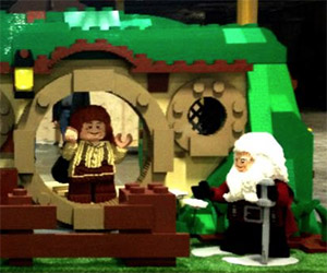 LEGO Life-Size Hobbit Bag End