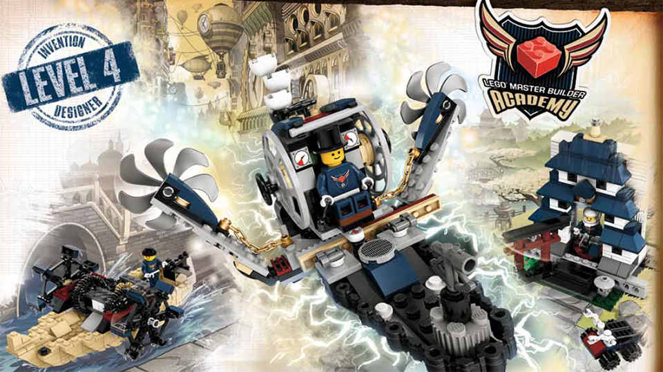 LEGO Introducing Steampunk Sets This Summer