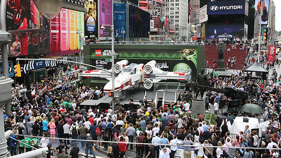 World's Largest LEGO Model Revealed: 1:1 Scale X-Wing