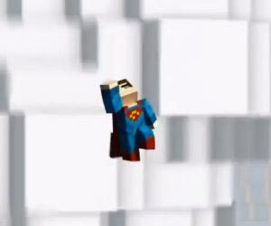 Mine of Steel: The Man of Steel Minecraft Trailer