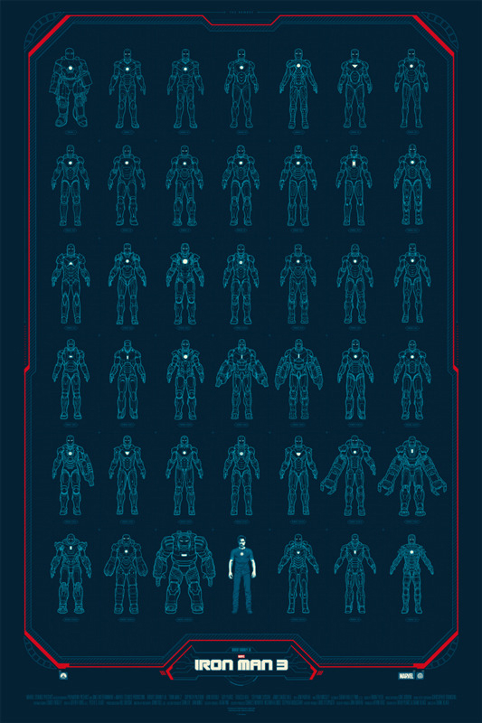 Limited Edition Iron Man Posters Mightymega