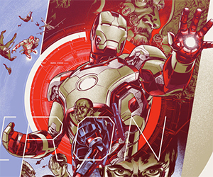 Limited Edition Iron Man Posters