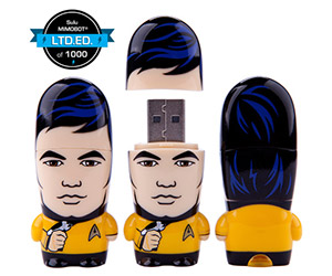 Mr. Sulu MIMOBOT Joins Other Star Trek Characters