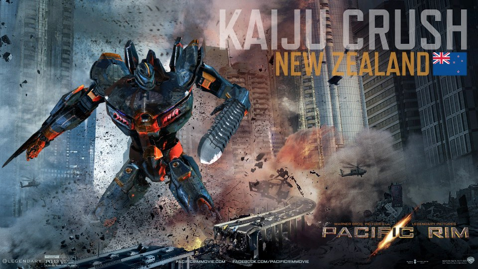 Pacific Rim: Design Your Own Custom Jaeger