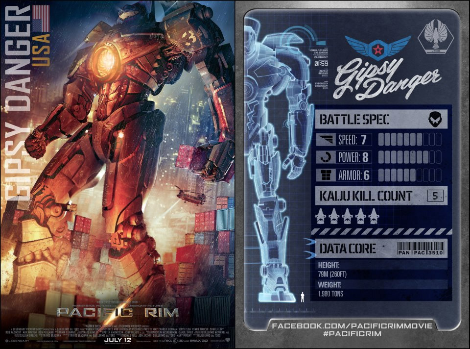 Everything We Know About the Pacific Rim Jaegers