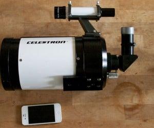 Celestron C5 with iPhone 4S