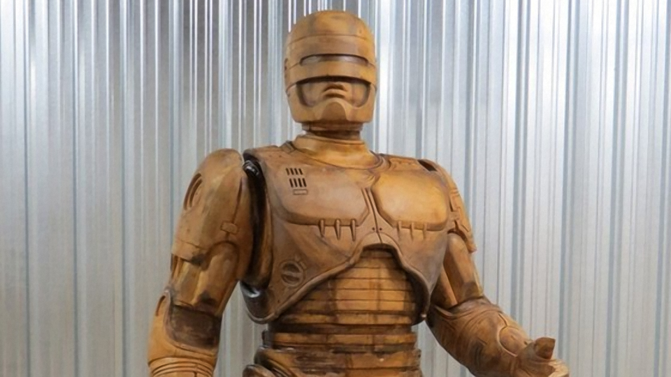 Detroit Erecting 10 Foot Tall RoboCop Statue