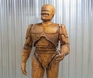 Detroit Erecting 10 Foot Tall RoboCop Statue