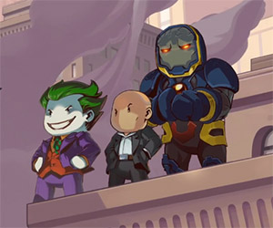 Scribblenauts Unmasked: DC Comics Characters