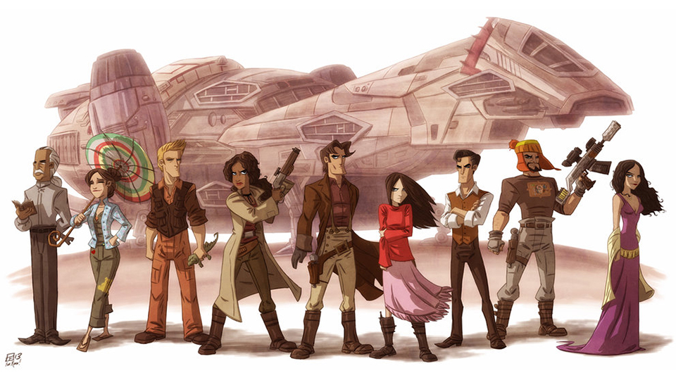 Serenity Now: Original Firefly Artwork