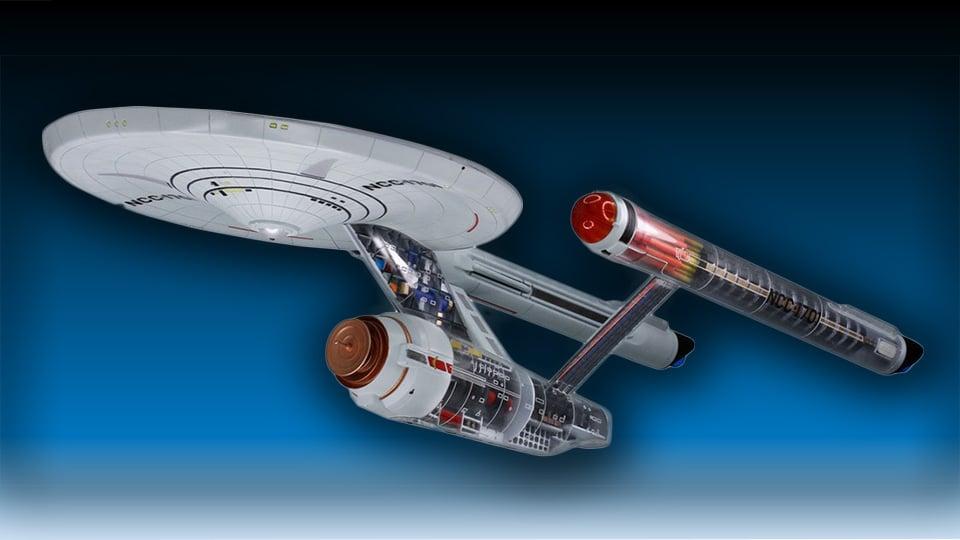 Star Trek Enterprise Project Cutaway Model