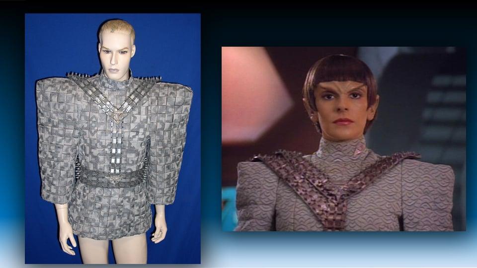 Star Trek Romulan Uniform For Sale on Etsy