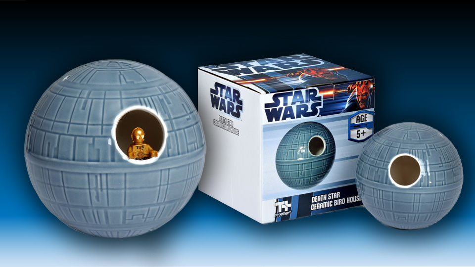 Star Wars Death Star Birdhouse