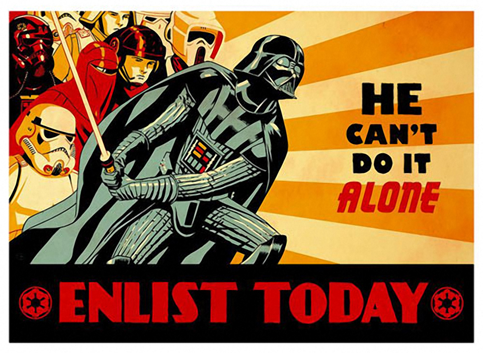 The Empire's Propaganda Poster