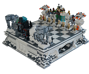 Star Wars LEGO Chess Set: Battle of Hoth