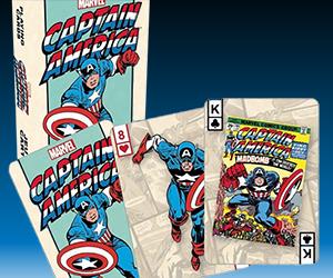 Superhero Playing Cards