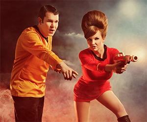 Star Trek Cosplay: The Away Team's Target Practice