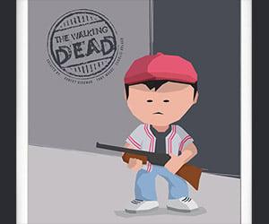 The Walking Dead Character Art