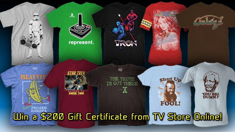 Giveaway: TV Store Online $200 Gift Certificate