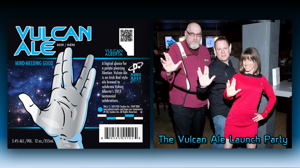 Live Long and Relax: Vulcan Ale Launches in Canada